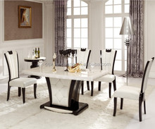 Modern Dining Table Set, Dining Table In Wood Modern Design, Dining Table Marble XC-T0985