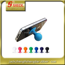 Lovely mobile phone support Octopus sucker spherical rubber suction cup bracket