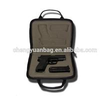 waterproof leather EVA gun carrying case