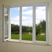 UPVC window/plastic window/PVC casement window