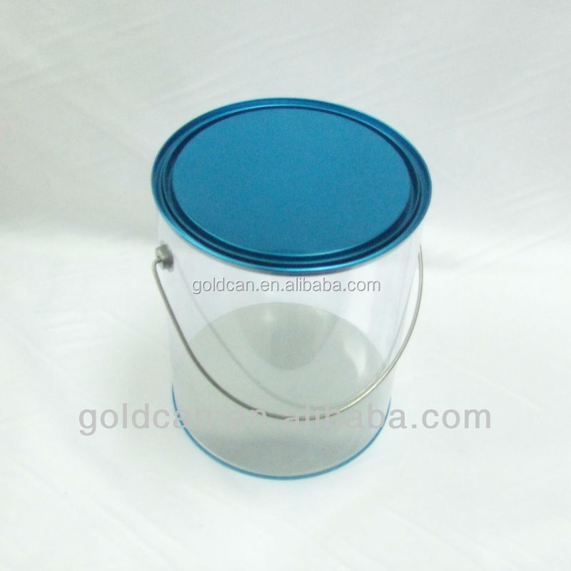 Wholesale fashion clear gift boxes buy clear gift boxes for 1 gallon clear plastic paint cans