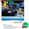Made in china led auto headlight,30W H7 h1 h4 led auto headlight