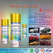 Mirror Chrome Spray Paint Coating ;New Fashioned Fast Dry Liquid Mirror Chrome Spray Paint