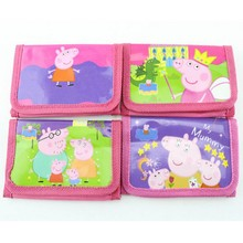 Children Fashion Polyester Cartoon Travel Sports Folding Magic Wallet