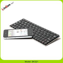 New Ultrathin Aluminum Case Cover wireless bluetooth keyboard for iPad 2,3,4 BK321