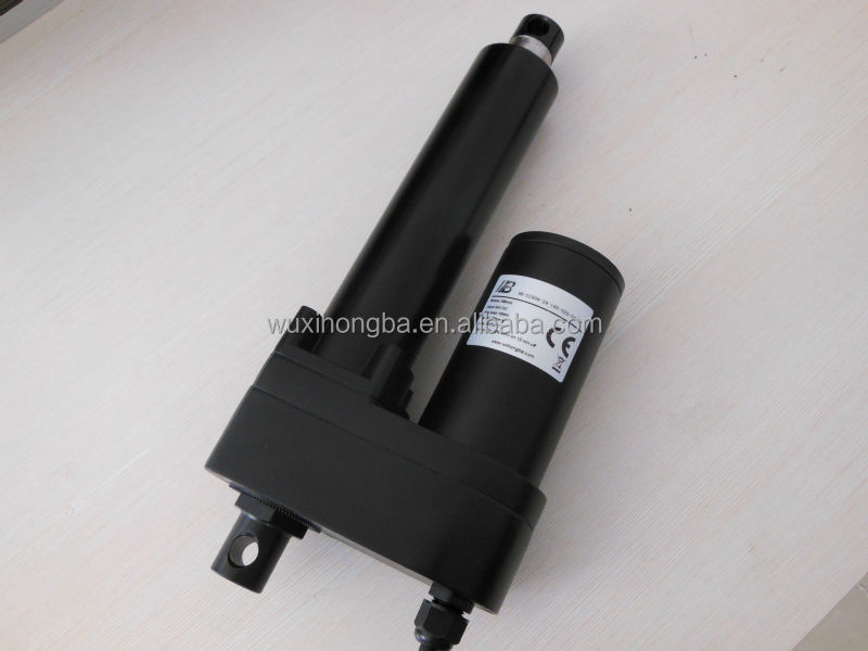 Waterproof industrial linear actuators 12v dc motor linear for Waterproof dc motor 12v