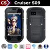 Cruiser S09 0.3+8MP 4.3 inch 3000mah 3G/adroid ip68 ip67 4g lte rugged phone