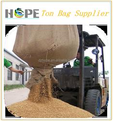 100% raw material 1000kg bulk bag 1 ton rice bag/pp jumbo bag price