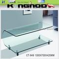Bent mesas de centro de vidro temperado