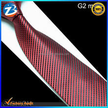 Stock Wholesale Black Red Striped Ties for Men