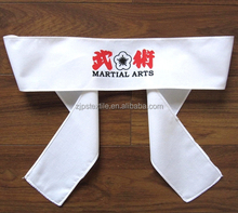 cotton ribbon hachimaki for Japanese Kendo and martial arts Japanese traditional headband
