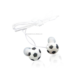 promotion stereo earphone silicone earphone plugs cable