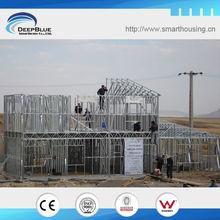 casas prefabricadas de estructura de acero ligero