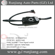 Auto spare parts NPR NKR Combination switch / Turn signal switch oem:8-97364074-0 used for Isuzu