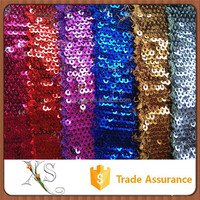 Paillette Knit Large Sequin Fabric