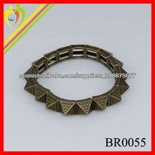 moda al por mayor de antigüedades bracelate cuerno de bronce hecha en la joyería de China fabricante