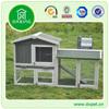 wooden design metal outdoor plastic rabbit hutch