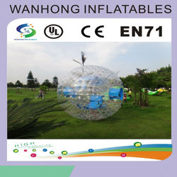 wholesale low price zorbing ball for bowling