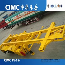 CIMC 3 Axles Container Chassis, Container Chassis Trailer, Container Skeleton Semi Trailer