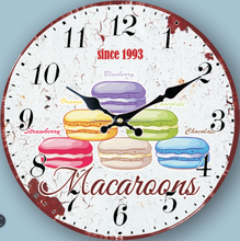 Rounded lovely digital wall clock