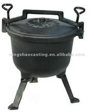 cast iron camping pressure cooker