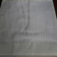 Wholesale container home bedroom woven tulle voile curtain fabric drape