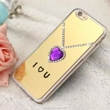 New Premium Electroplate Mirror TPU Soft Gel Case For Apple iphone 6 plus