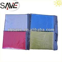 Factory disposable plastic poncho rain poncho in football