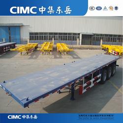 CIMC Direct Factory Tri-axle Flat Bed Semi Trailer