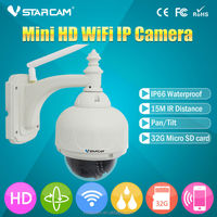4*Optical Zoom, PTZ, 1.0MP wireless digital remote ip outdoor camera