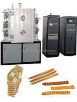 Stainless Steel Western Watch StrapsJewelery Vacuum Metalizing Coating Machine