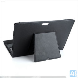 New arrival Bluetooth keyboard leather case for Surface Pro 3