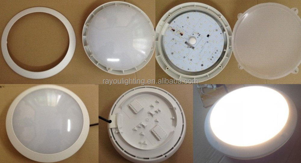 waterproof led steam room light 15w ceiling mounted led