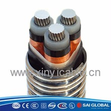 heat resistant free halogen listed in UL CUL SIRIM insulated power cable rated voltage 1kv or lower