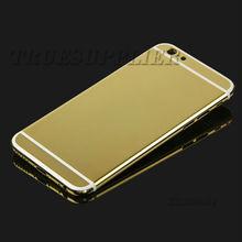 Wholesale high quality for iphone 6 plus 24k karat carat gold housing