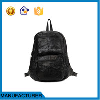 ladies' genuine leather backpack for college