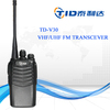 handheld portable high quality VHF UHF military 5w waki taki
