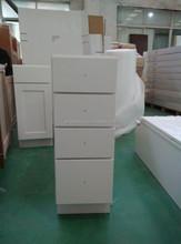 2015 usa kitchen furniture solid wood kitchen cabinet