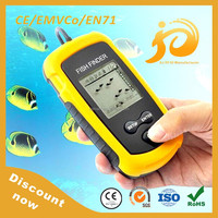 Discount now hawkeye portable fish finder with black and white / color LCD display