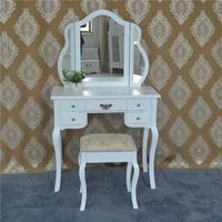 Modern Wood Dressing Table, Wooden Furniture, Design Dresser Table