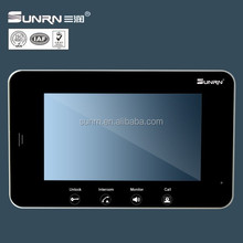 7 inch lcd panel villa/office/ hotel video door phone made in China