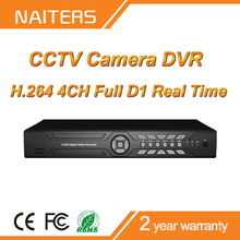 4CH 720HD image, CCTV DVR, D1 real time with cheap price