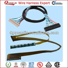 30pin to 40pin lvds conventer cable for lcd screen