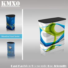 Tension Fabric Display Stand Modern Exhibition Booth Pop Up Counter