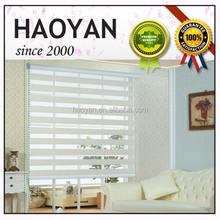 100% polyester wholesale zebra fabric for roller blind