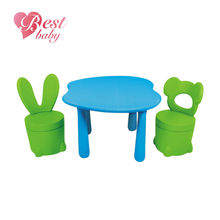 Adjustable ergonomic kids table and chairs