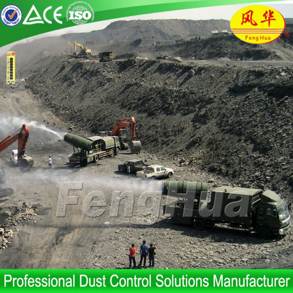 CE approved DS-100 mining dust suppression equipment fogging machine for dust control water micro fog machine