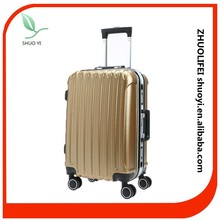 Durable urban pc trolley luggage with protector cover