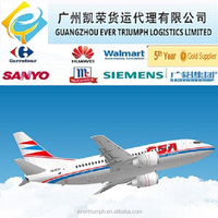 Air cargo door to door service from China to France