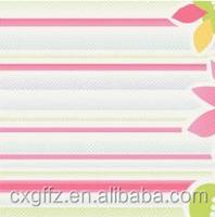 all kinds of cartoon flower design peach skin fabric table runner